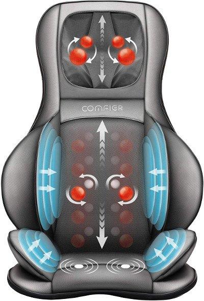comfier shiarsu masajeador de espalda