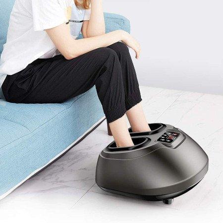 masajeador de pies negro