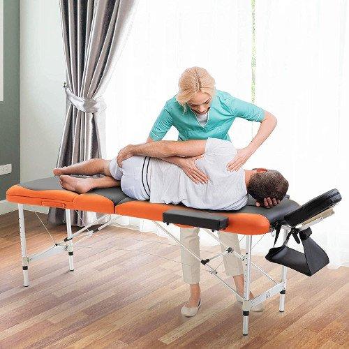 HOMCOM camilla de masaje masajes