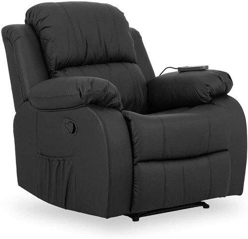 Novohogar sillon de masaje negro