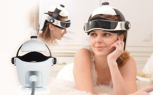 masajeador de cabeza mujer