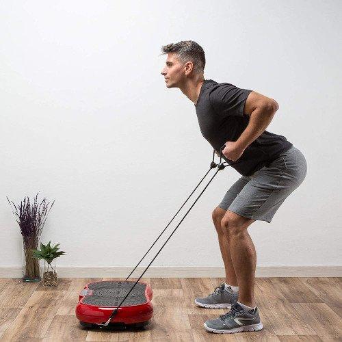 ZEN SHAPER® MINI Plataforma Fitness ultradelgada vibratoria (modelo 2021) chico ejercicio