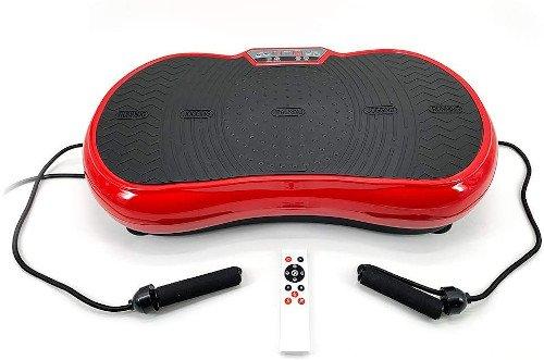 ZEN SHAPER® MINI Plataforma Fitness ultradelgada vibratoria (modelo 2021) cuerdas y mando
