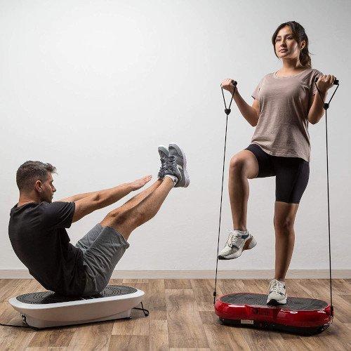 ZEN SHAPER® MINI Plataforma Fitness ultradelgada vibratoria (modelo 2021) hombre y mujer ejercicio
