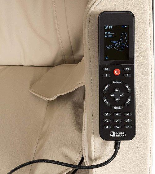 KARMA® Sillón de masaje 2D mando